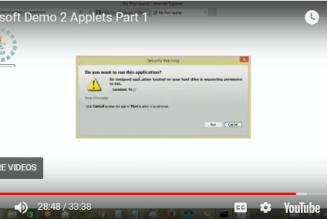 Arksoft Demo 2 Applets Part 1